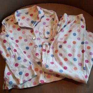 Polka-dot pajama set